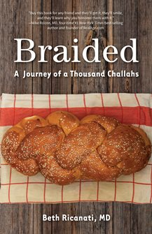 Book cover for Braided: A Journey of a Thousand Challahs