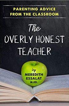 Book cover for The Overly Honest Teacher