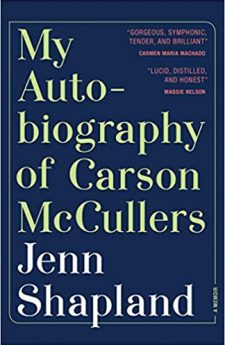Book cover for My Autobiography of Carson McCullers