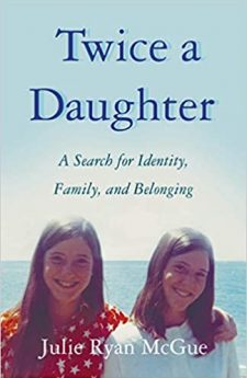 Book cover for Twice a Daughter: A Search for Identity, Family, and Belonging
