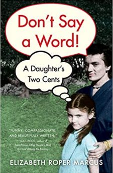 Book cover for Don't Say a Word: A Daughter's Two Cents